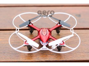 SYMA X11c - odolný RC dron s HD kamerou, červená