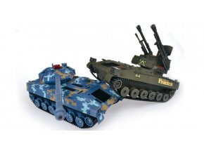 Double Eagle: RC súbojové tanky v mierke 1:24 (27/40MHz)
