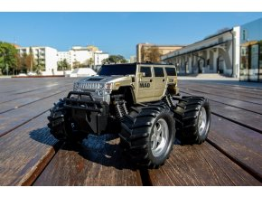 NQD Mad Monster Truck 1:16 27/40MHz RTR strieborná farba