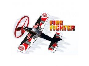 letadlo vystrelovaci z odpalovace fire fighter 26x21 cm