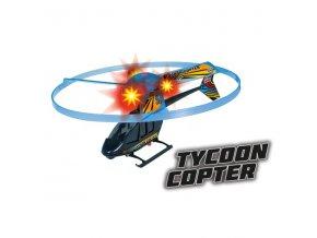 vystrelovaci vrtulnik tycoon s blikajicimi diodami