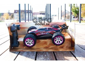 RC auto Land Buster Monster Truck 1:12, červený