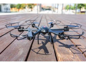 RC dron MJX X601H HEXA, PROGRAMOVATEĽNÝ LET, BAROMETER, FPV, KAMERA C4005 ČIERNA