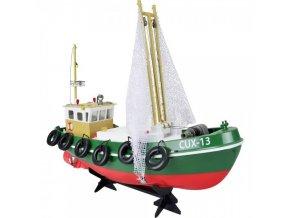 rybárska loď na diaľkové ovládanie