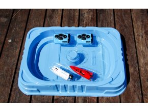 SPL Technik - Mini lodičky na ovládanie s bazénom