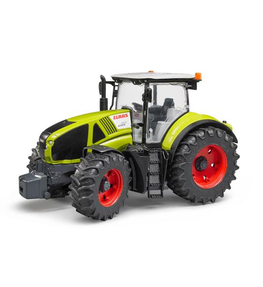 RC traktory a stavební technika
