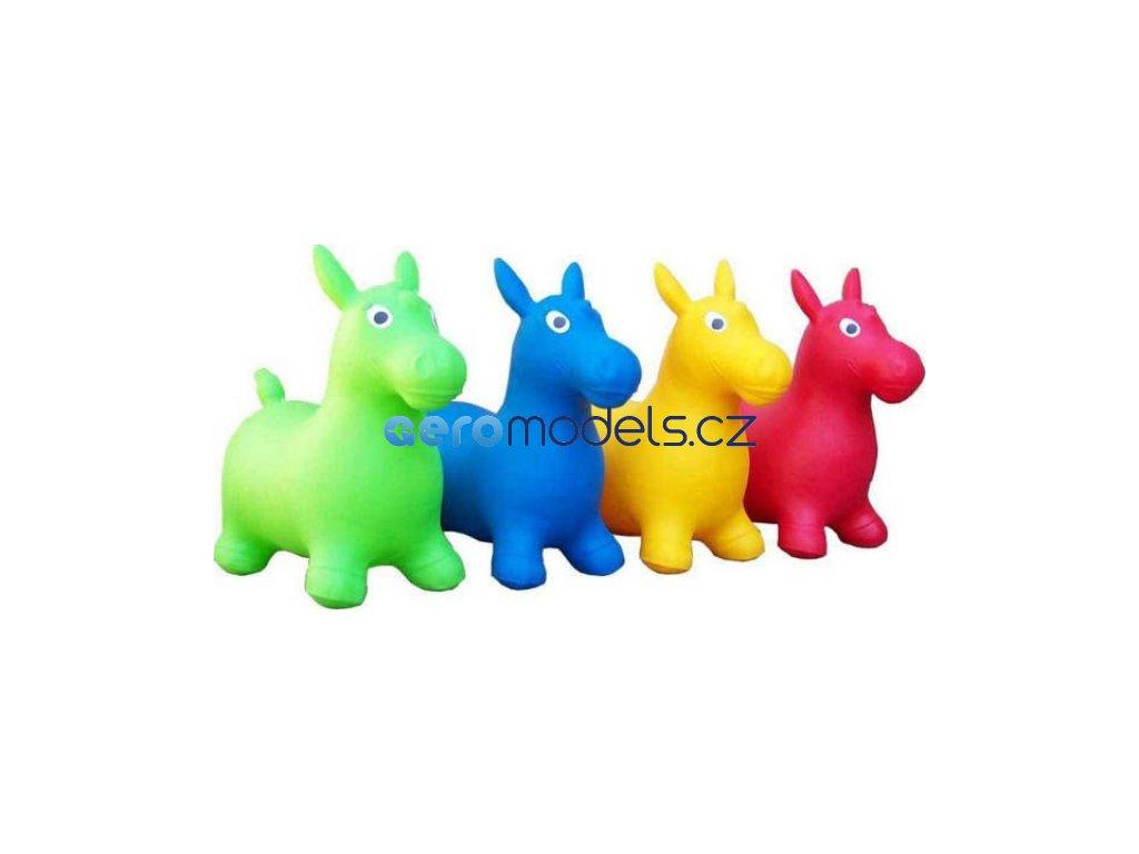 Gumový kôň jumper (Farba Žltá)