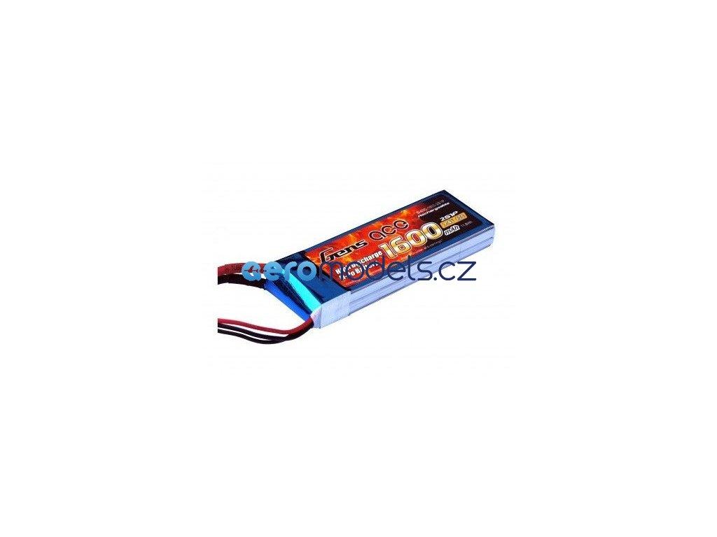 1600mAh 7.4V 40C Gens Ace