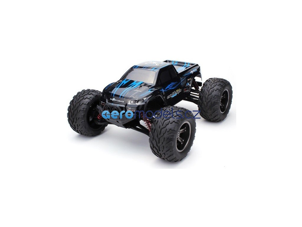 3558 6 rc auto monster truck challenger 2wd 1 12 2 4ghz rtr