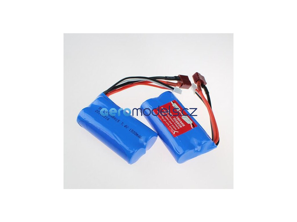 Free shipping 7 4V 1500mAh Lipo Battery wltoys 12423 wltoys 12428 rc car For Wltoys 12423