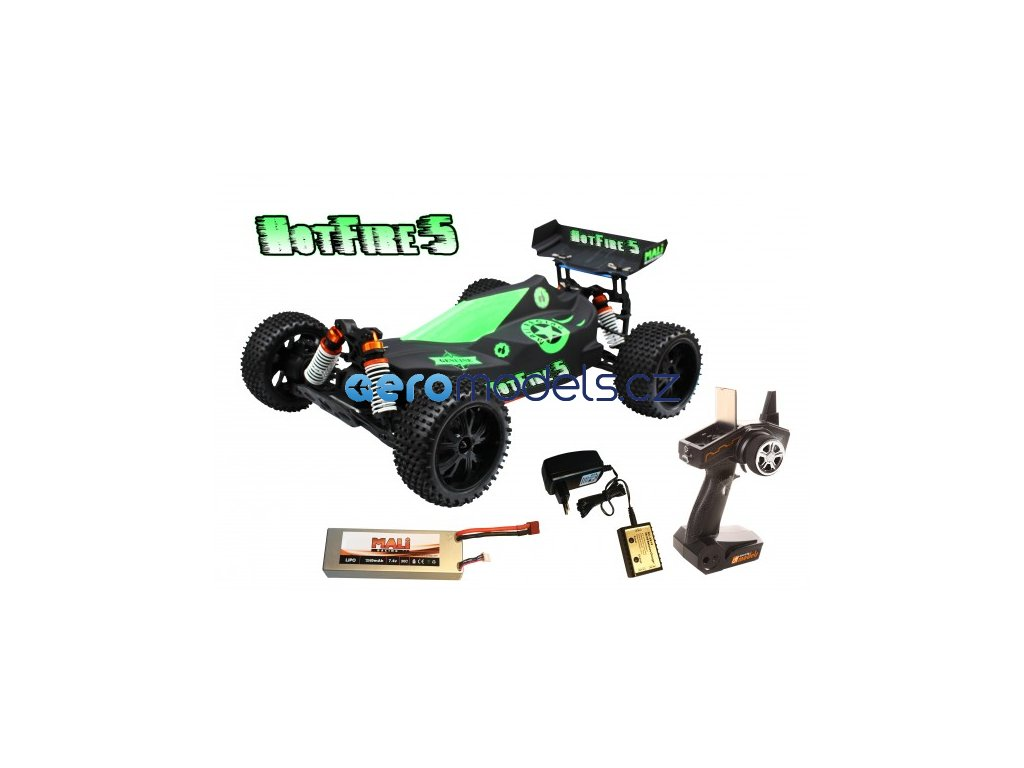hot fire buggy 5 110 xl brushless rtr waterproof (1)