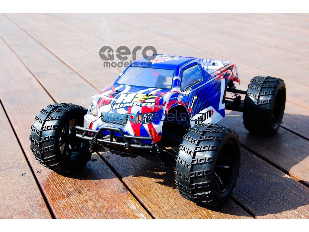 RC Auto Himoto Bowie HSP Modré