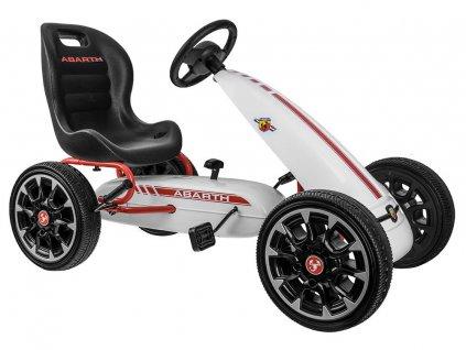 eng pl GOKART ABARTH for pedals Large soft wheels PA0167 13000 32