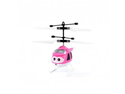 Mini helikoptéra - růžová