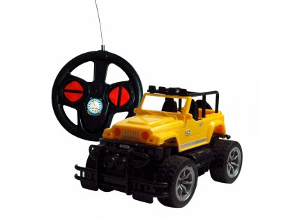 RC auto Overlord s akumulátory