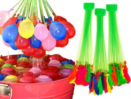 eng pl Magic colorful water balloons 111 pieces ZA1649 11664 9