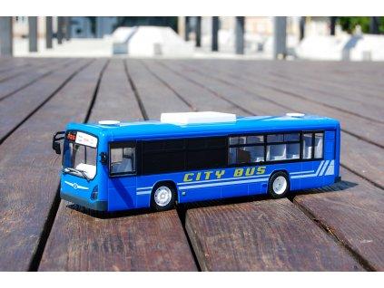 RC Autobus s otvíracími dveřmi 33cm na dálkové ovládání