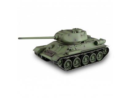 Tank T34 / 85 BB 2,4Ghz 1:16 s vyztuženým (dřevěný) kufrem