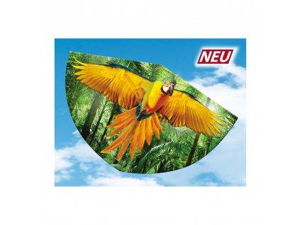 Létajíci drak PAPAGEI 75x48 cm