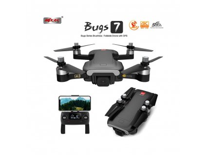 bugs7w brushless 5 ghz 4k pokrocila gps opticky senzor hmotnost 249g 10
