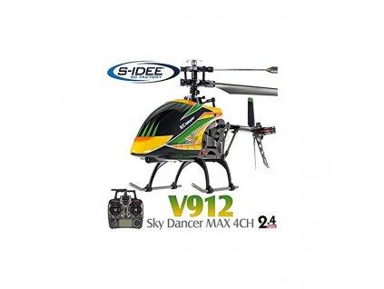 v912 vrtulnik 24ghz sky dancer