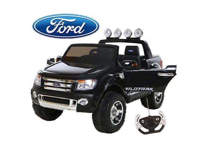 Dětské dvoumístné autíčko Ford Ranger v luxusním provedení s rodičovským ovladačem