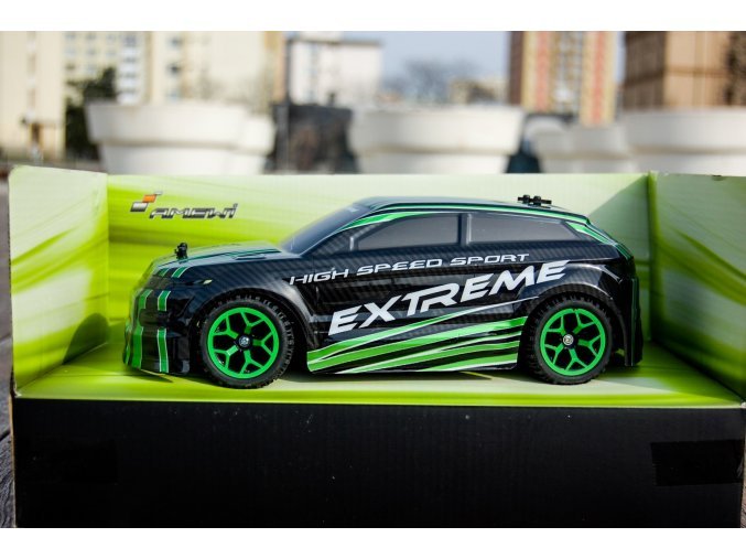 Auto X-Knight 1:18 RTR 4WD ZELENÁ