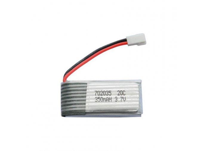 5 pcs 3 7v 350mah 20c lipo battery for minicp x4 hubsan x4 wl v931 mjx f47 quadcopter silver 2263 7946715 1 zoom