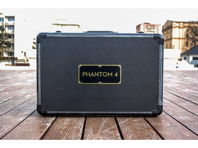 Přepravní kufr pro DJI Phantom 4 ČERNÝ