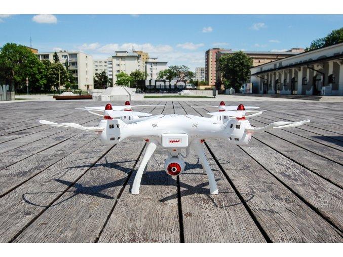 RC DRON SYMA X8SW - WIFI-HD KAMERA + BAROMETR + AUTOSTART / AUTOPŘISTÁNÍ