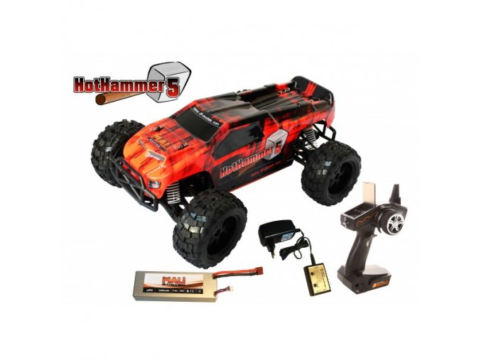hot hammer 5 rc auto 110 xl rtr model roku 2016