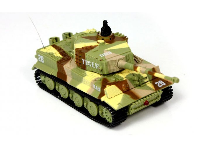 Mini RC tank tiger 1:72
