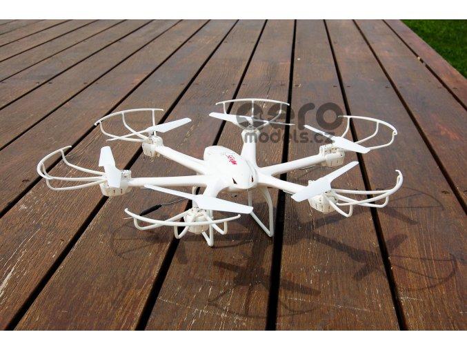 Značkový rc dron s FPV Hexa Blade, MJX hexacoptéra X600