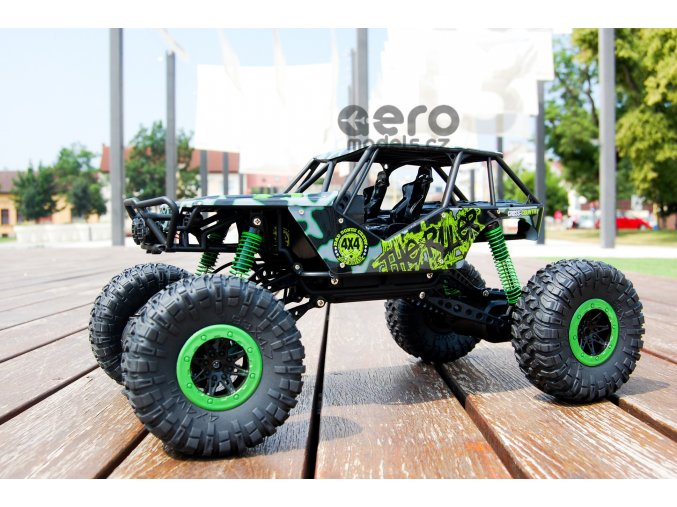 Rock Crawler Maistro 1:10, zelená barva