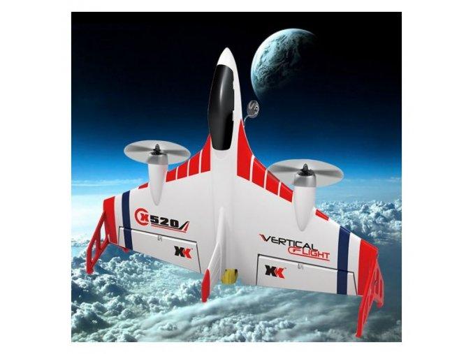 x520 vtol vertical flight