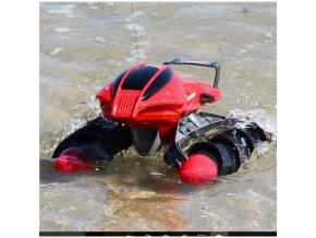 Obojživelník Amphibious Stunt Car červená barva