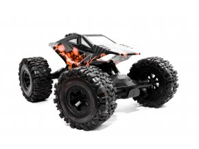 Crawler df-models 4WD RTR Oranžový
