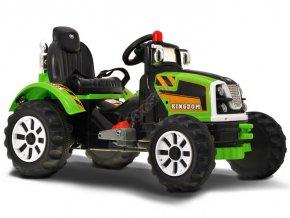 Detský traktor (Farba Zelená)