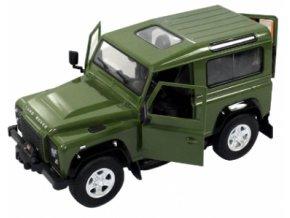 Rastar: Land Rover Denfender 1:14 RTR - zelený offroad