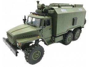 110381 wpl vojensky nakladny automobil wpl b 36 1 16 6wd zeleny