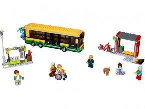 LEGO City - Zastávka autobusu LEGO60154