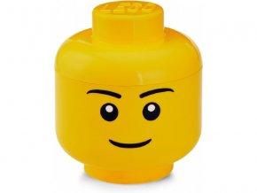 LEGO úložná hlava veká - chlapec LEGO40321724