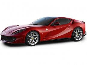 Bburago Signature Ferrari 812 Superfast 1:43 červená BB18-36908