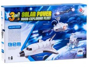 Solární energia Moon-exploring flotila set 3in1