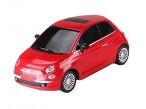 Fiat 500 Sport Racing 1:18 27MHz RTR - červený