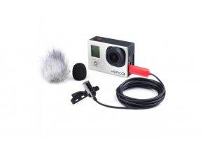 Mikrofon SARAMONIC SR-GMX1 - do GoPro Hero 4/3 + / 3