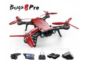 MJX Bugs B8 PRO Google + LCD + 2x batérie