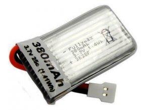118592 mjx x906t nahradna bateria 380mah 3 7v 25c lipo