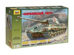 Zvezda tank Henschel Kingtiger (1:35) ZV-3601