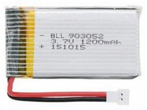1200mAh 3.7V LiPo baterie